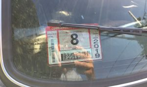 Rob Siegel - Sorting out a car - Inspection sticker