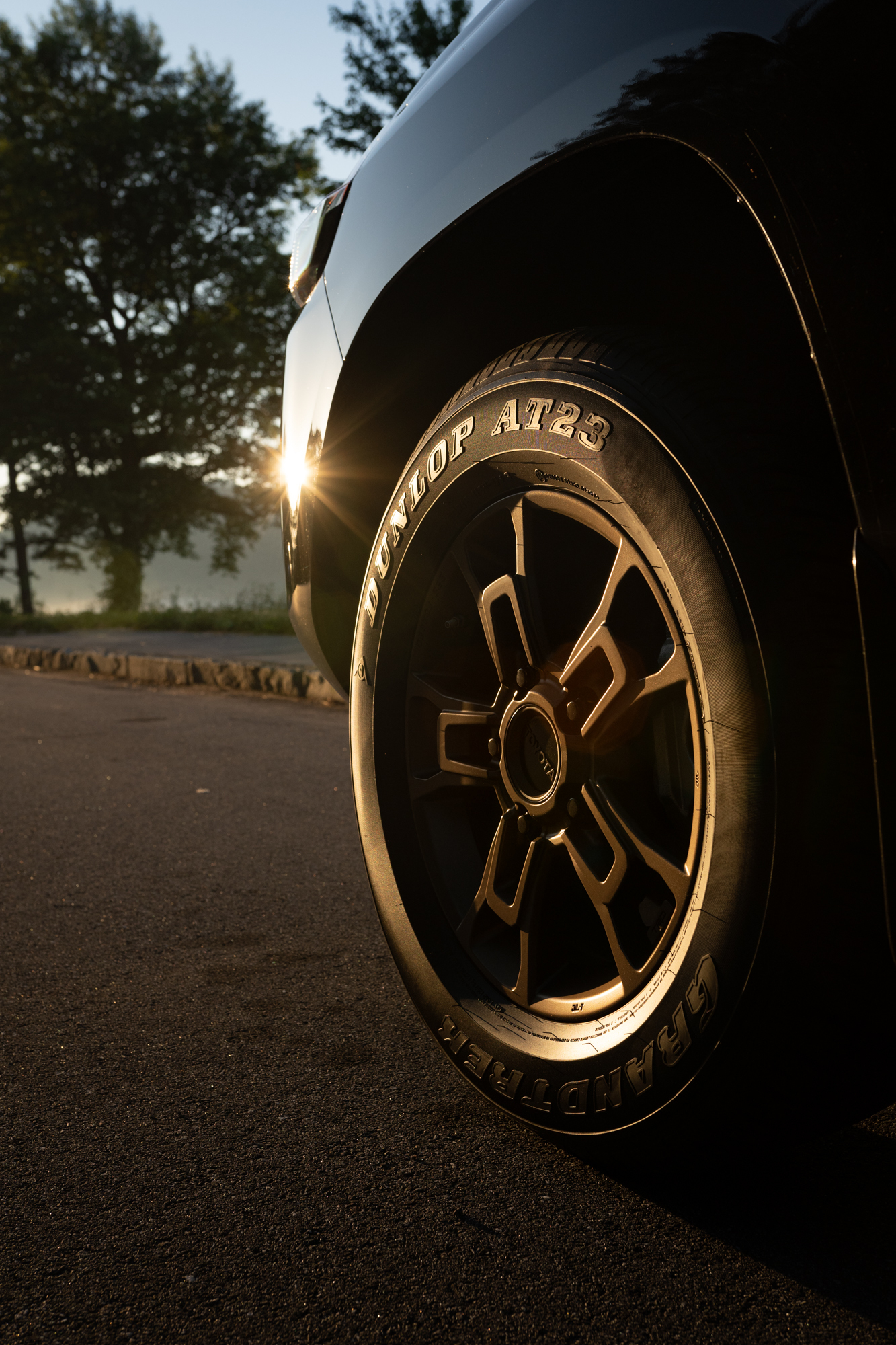 Toyota Land Cruiser Wheel and Tire