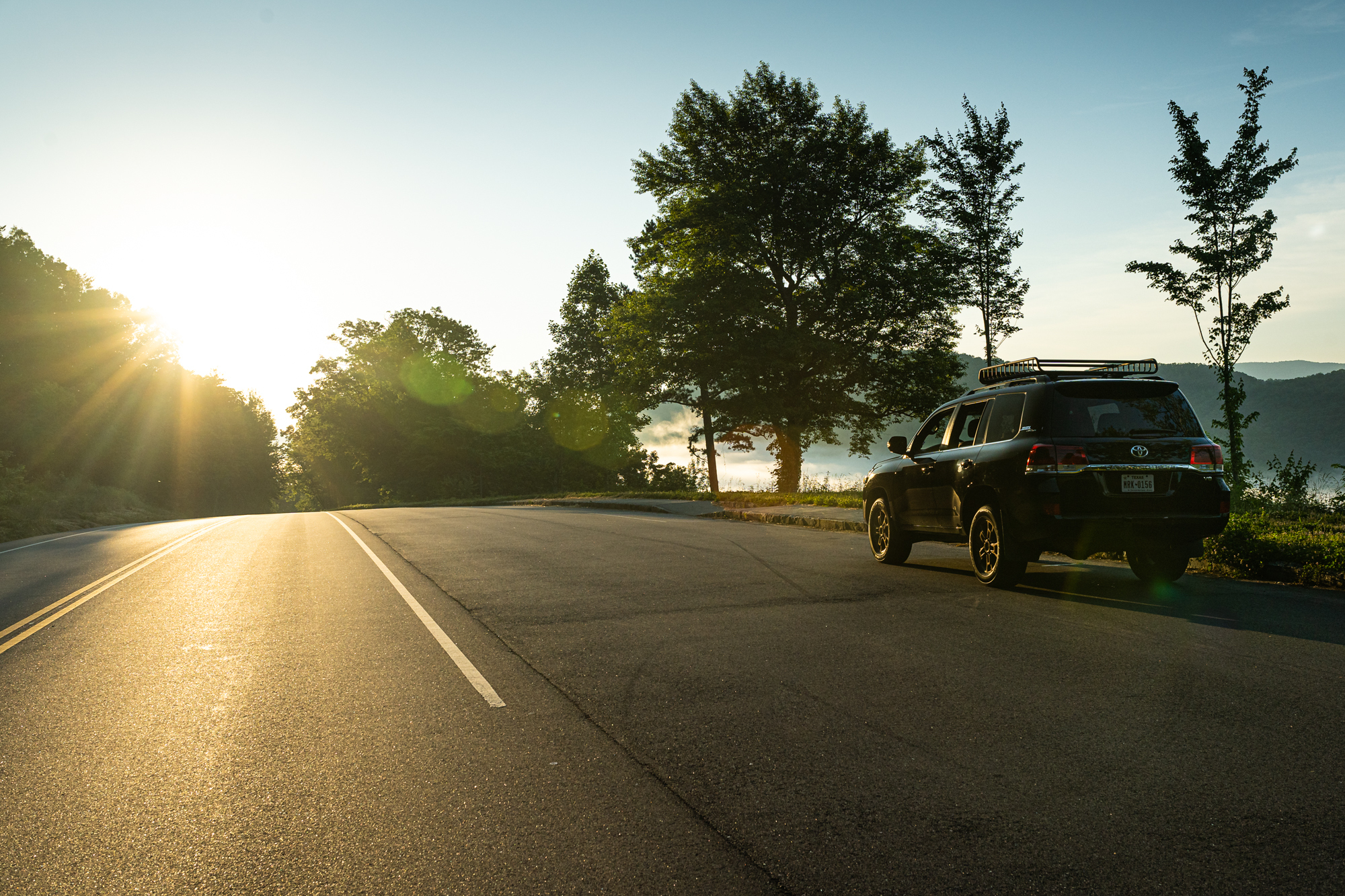 Toyota Land Cruiser Rear Three-Quarter