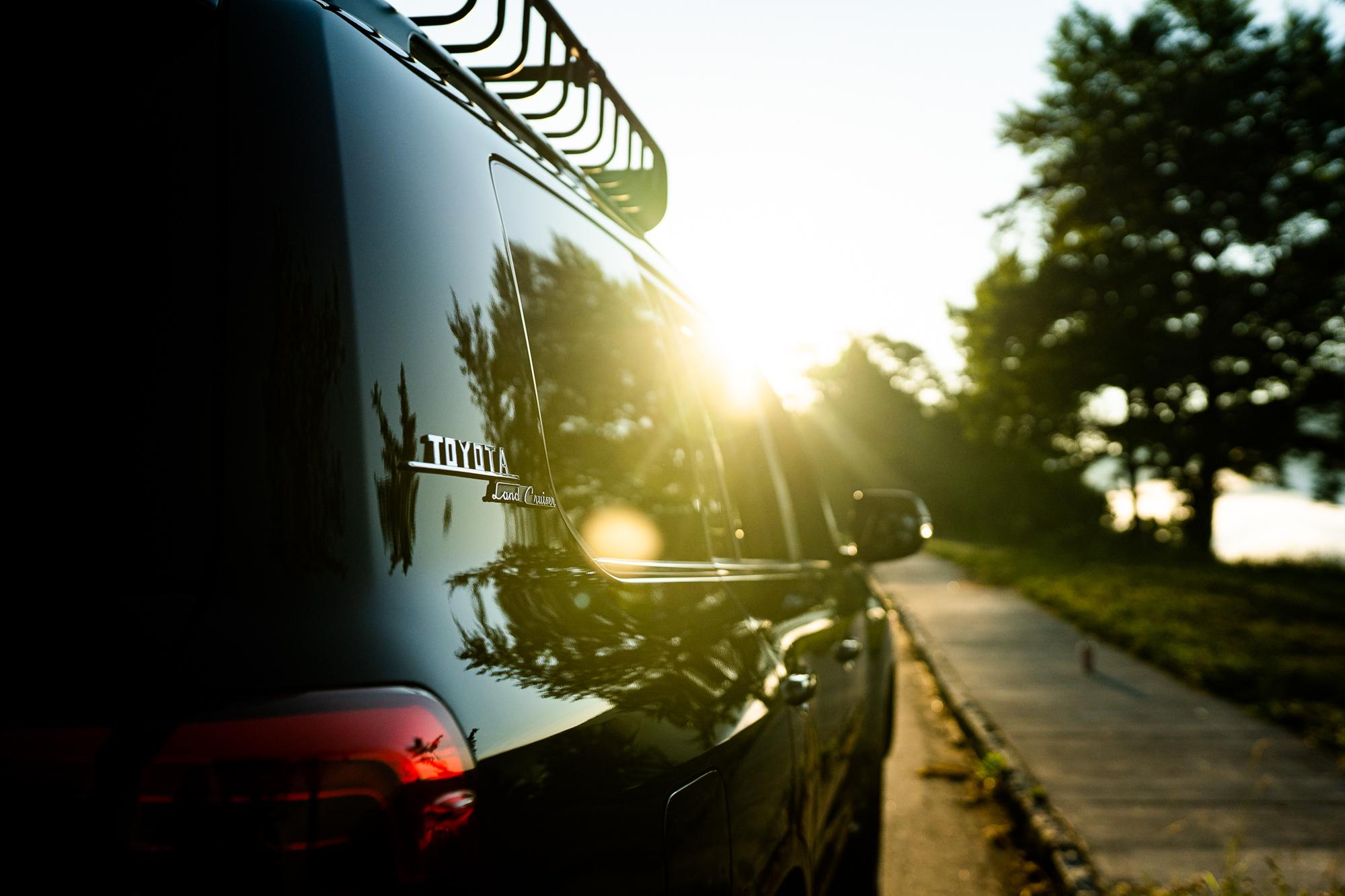 Toyota Land Cruiser Side Body Sun