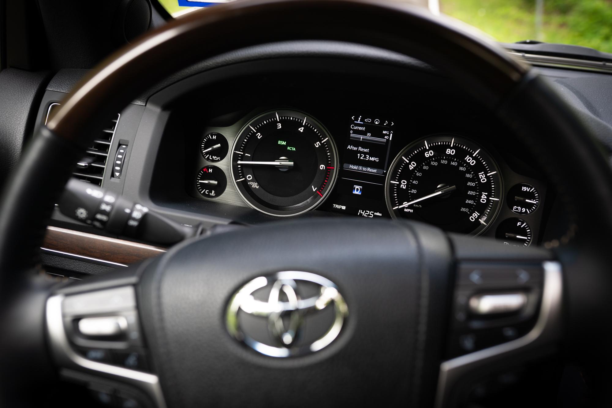 Toyota Land Cruiser Dash Digital Gauges