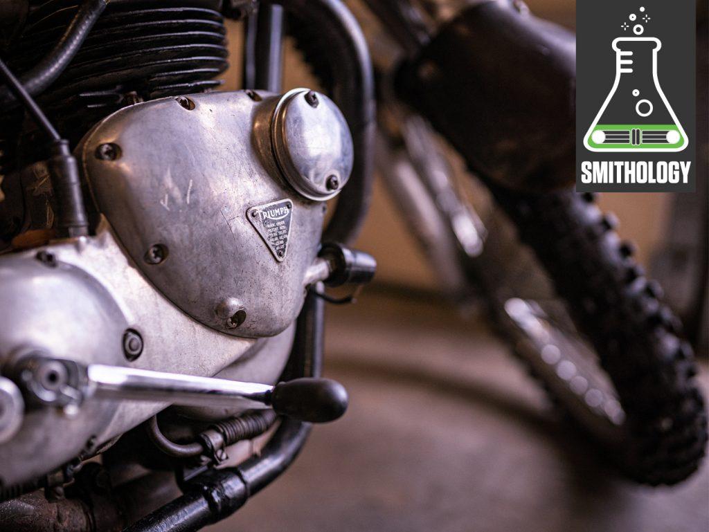 Sam Smith Triumph Motorcycle