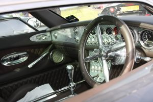 Spyker C8 Steering Wheel Cockpit