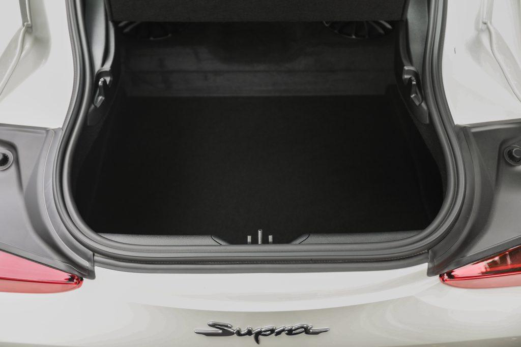 2021 Toyota Supra hatch opening
