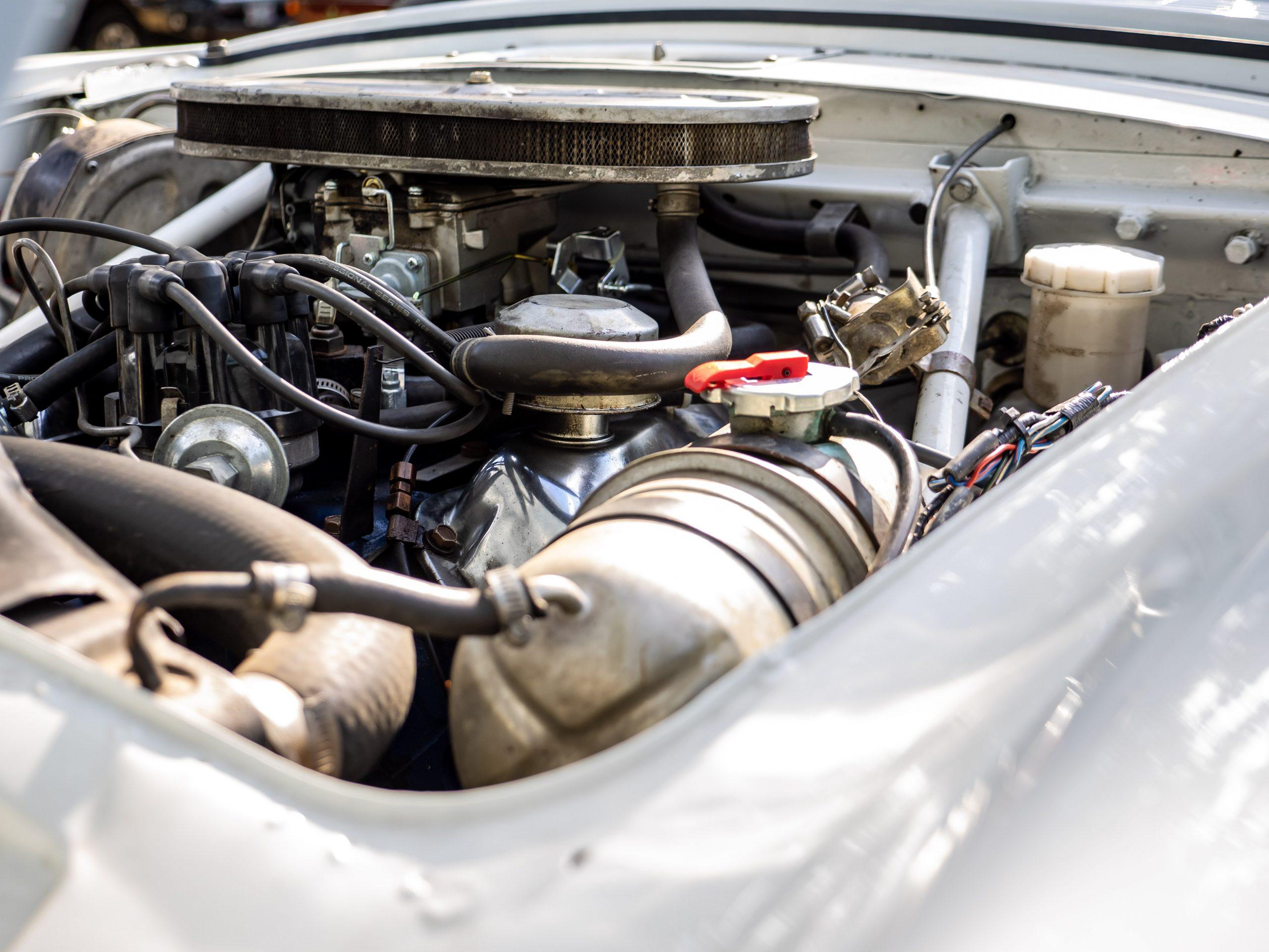 Sunbeam Tiger Engine