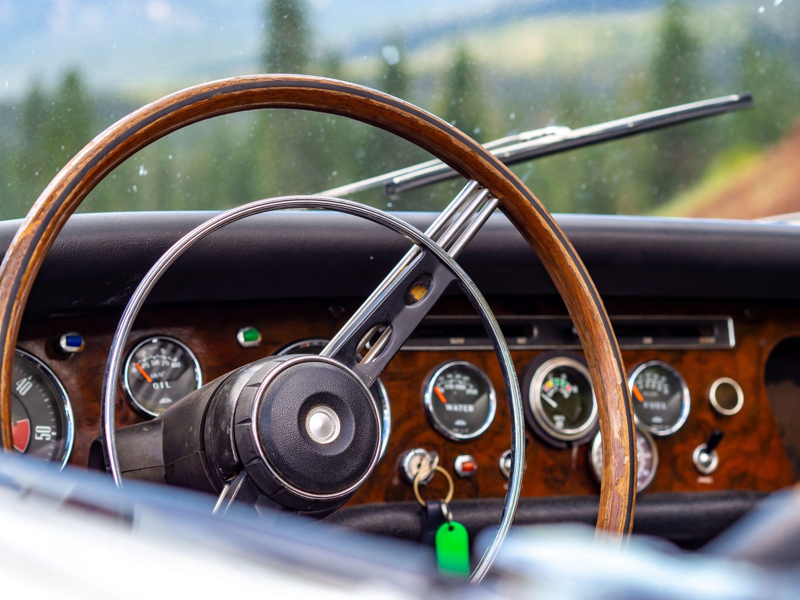 Sunbeam Tiger Steering Wheel