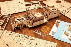 UGears Dream Cabriolet Wooden Model Kit