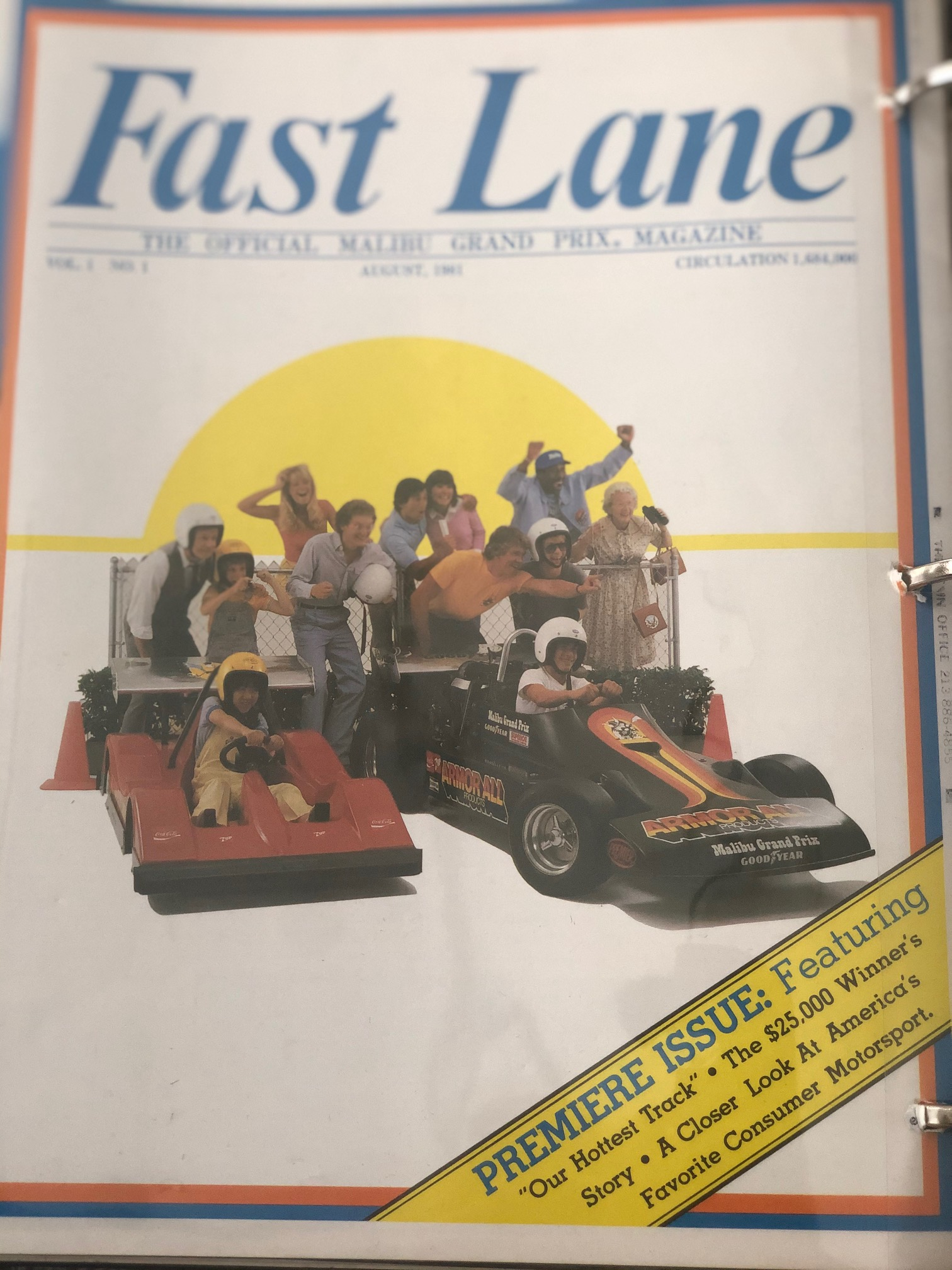 Fast Lane Malibu Grand Prix Magazine