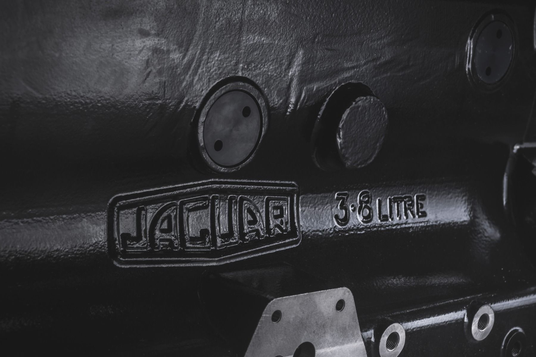 Jaguar XK6 engine-block-detail