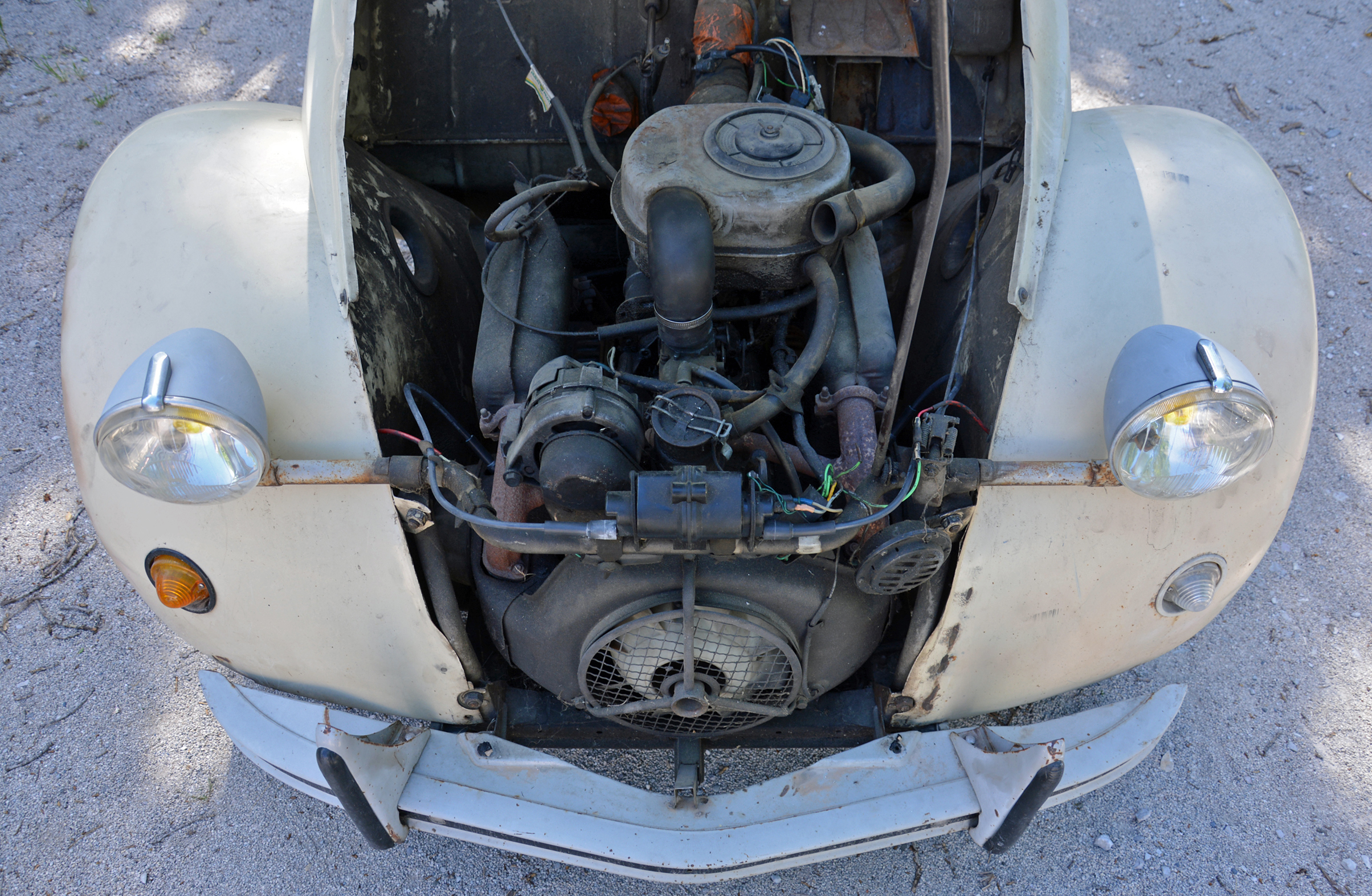 1978 Citroen 2cv Engine
