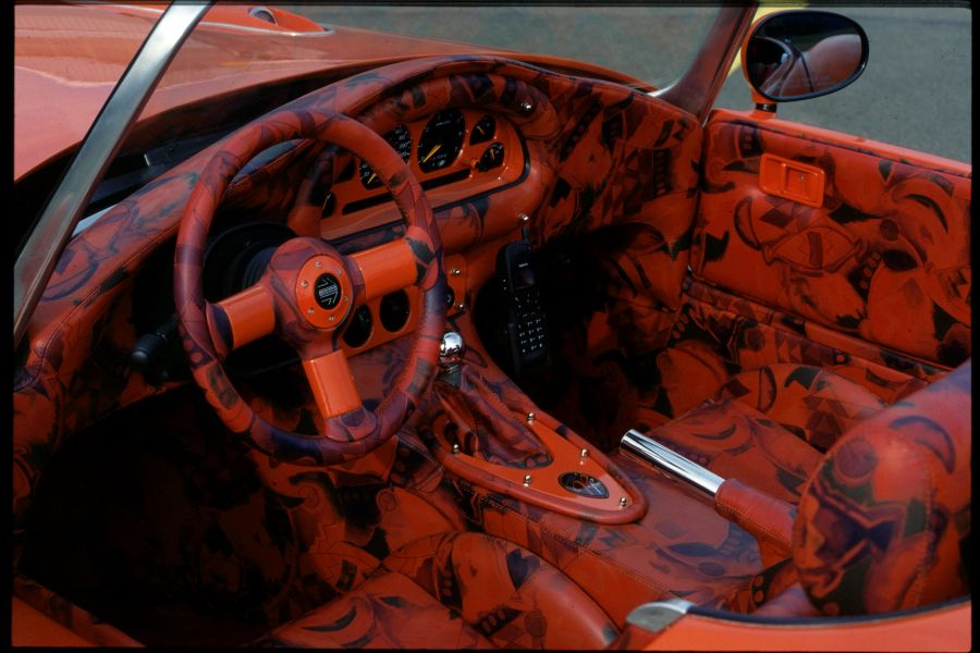 Rinspeed roadster_interior