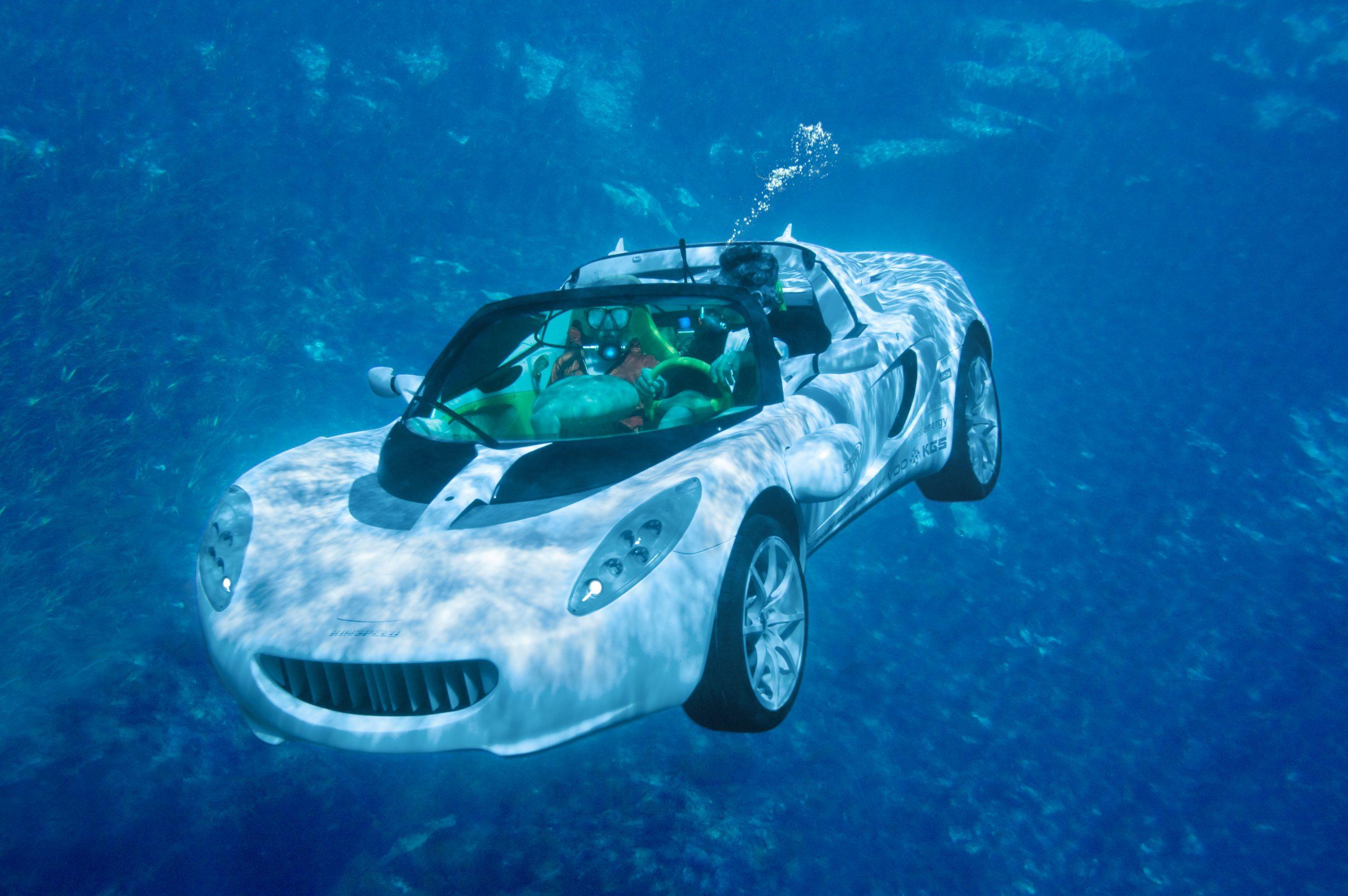 Rinspeed Squba underwater