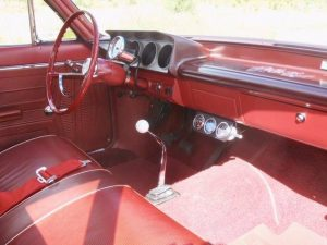 1963 Pontiac Tempest Super Duty Tribute interior