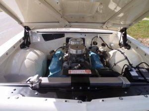 1963 Pontiac Tempest Super Duty Tribute engine bay 455