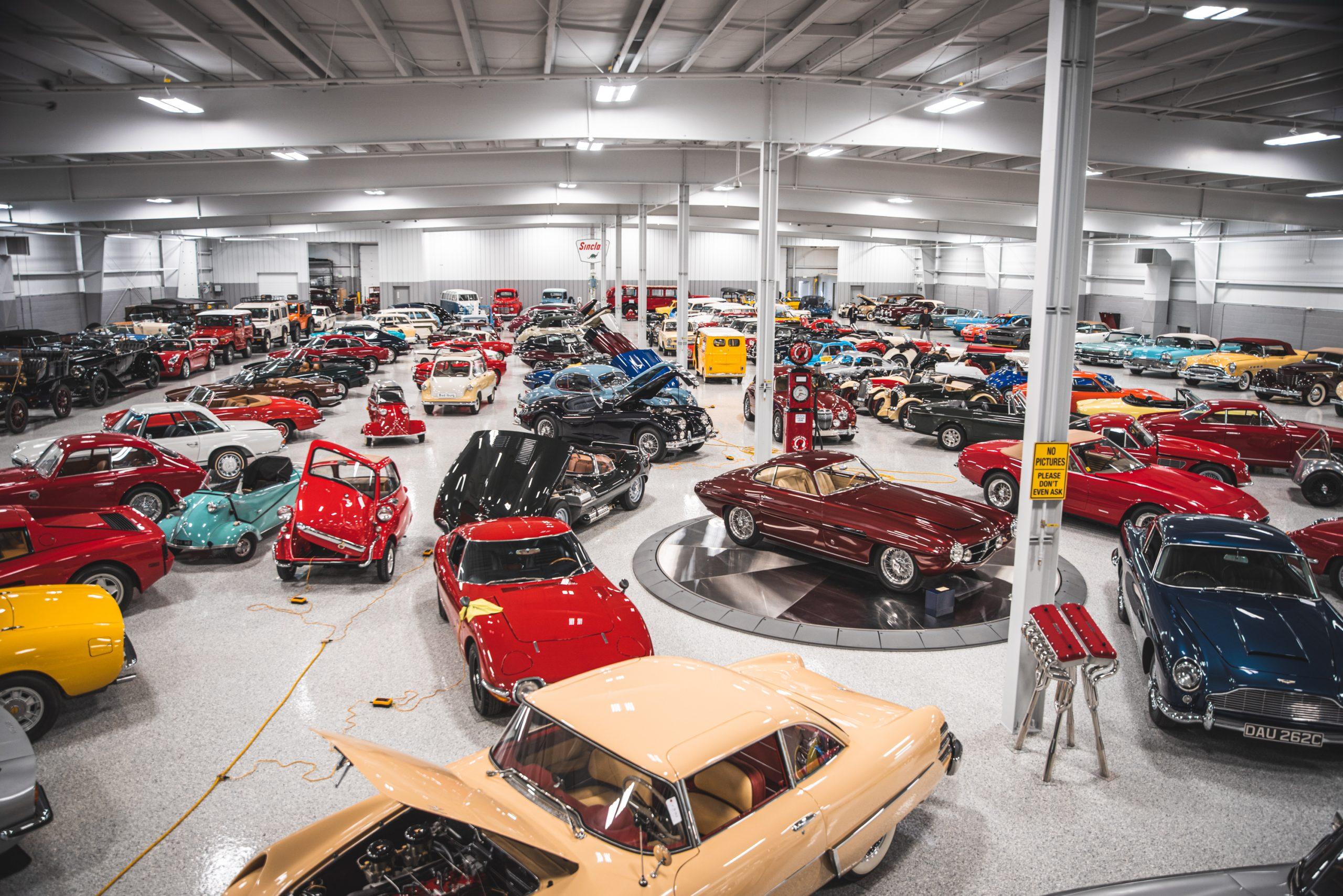 eklhart auction collection cars