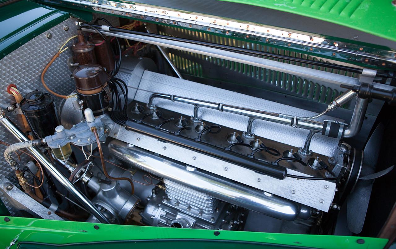 1938 Bugatti Type 57 Cabriolet Coachwork by Letourneur et Marchand engine