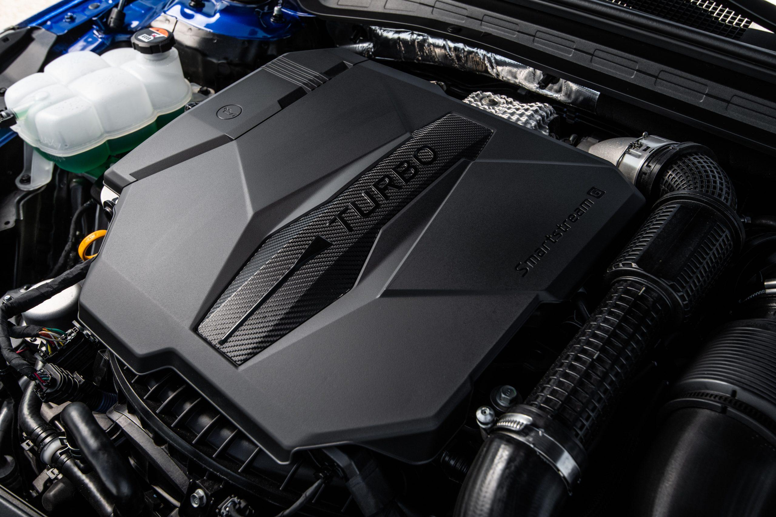 2021 K5 GT engine