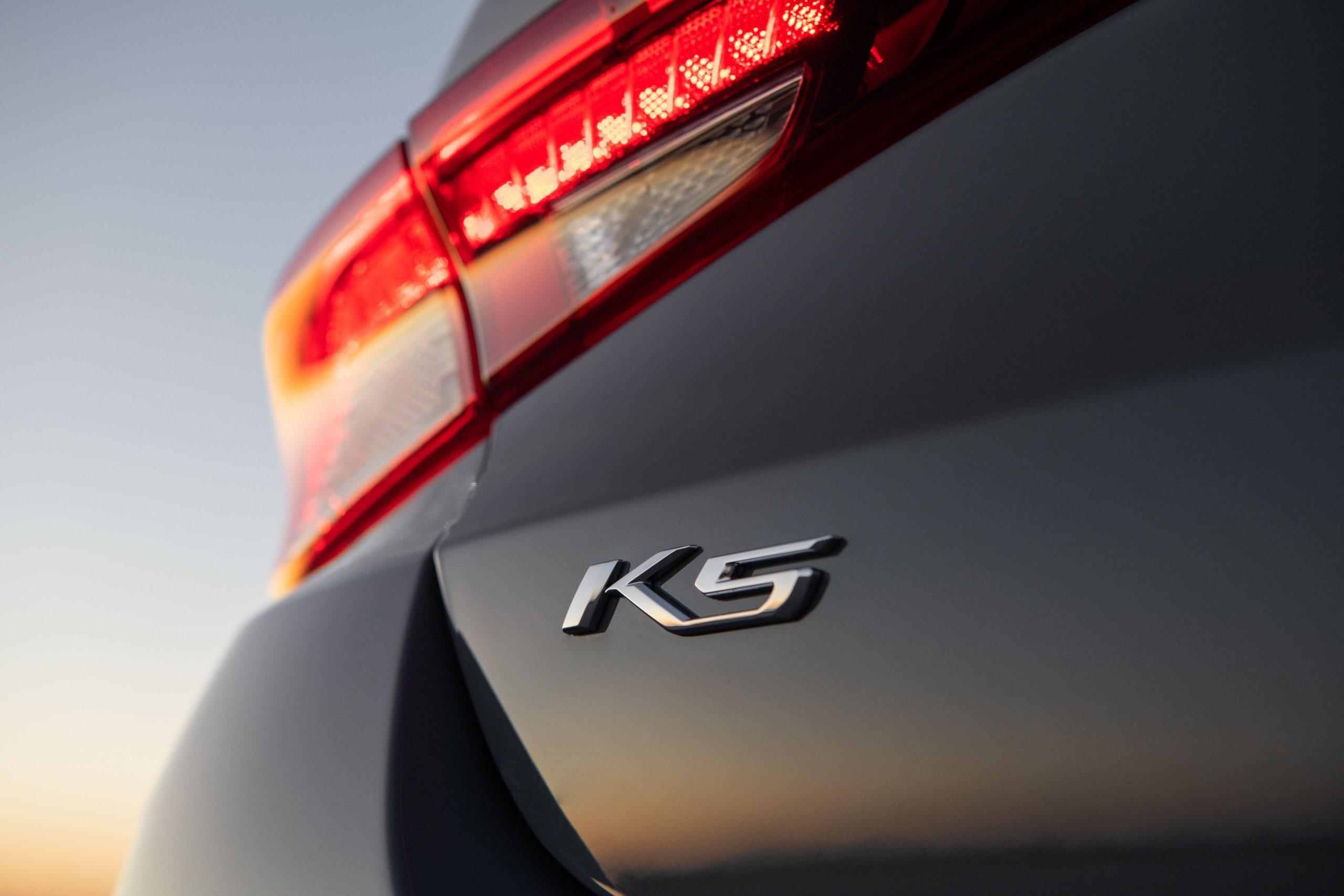 2021 K5 GT-Line AWD rear logo