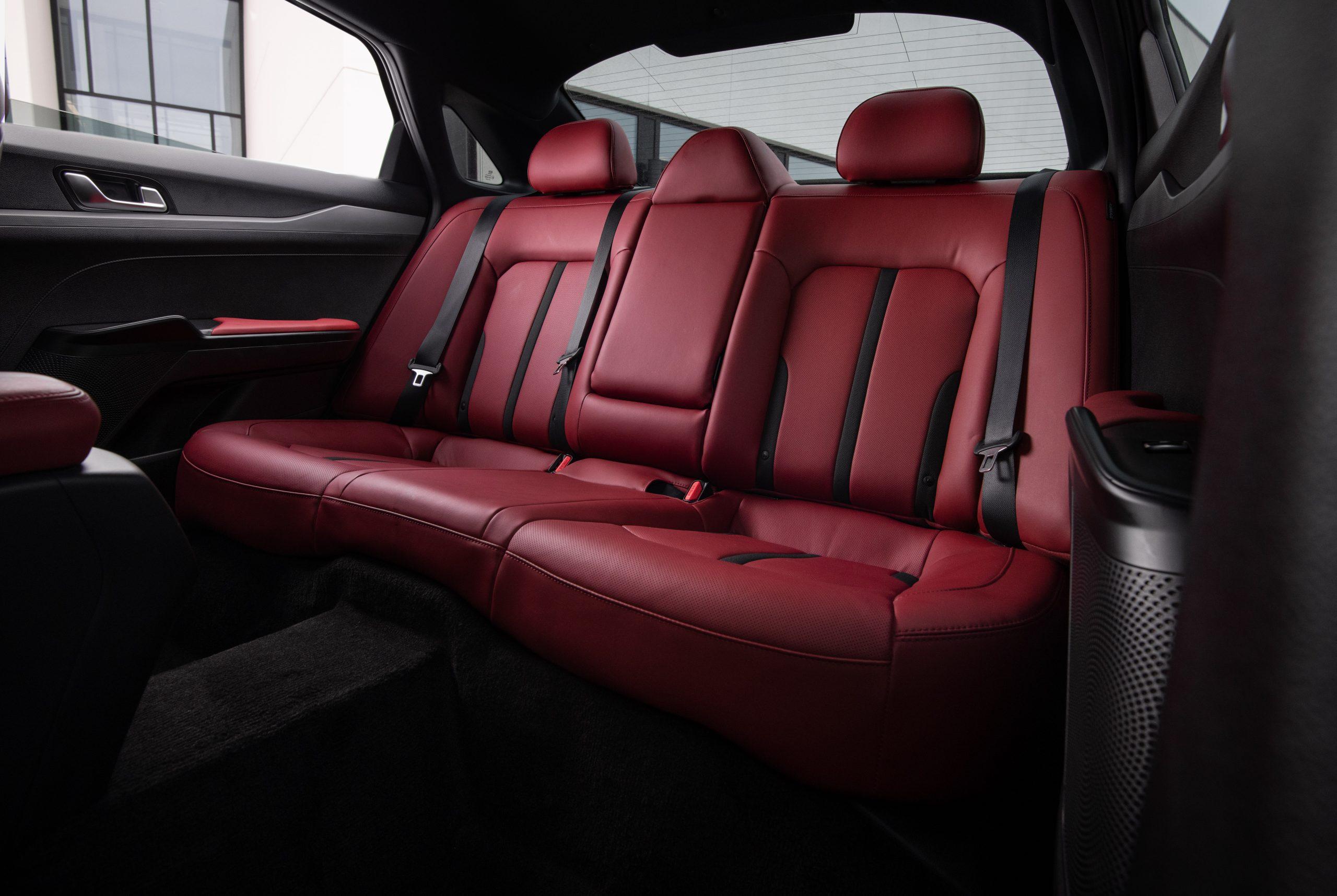 2021 K5 GT-Line AWD interior