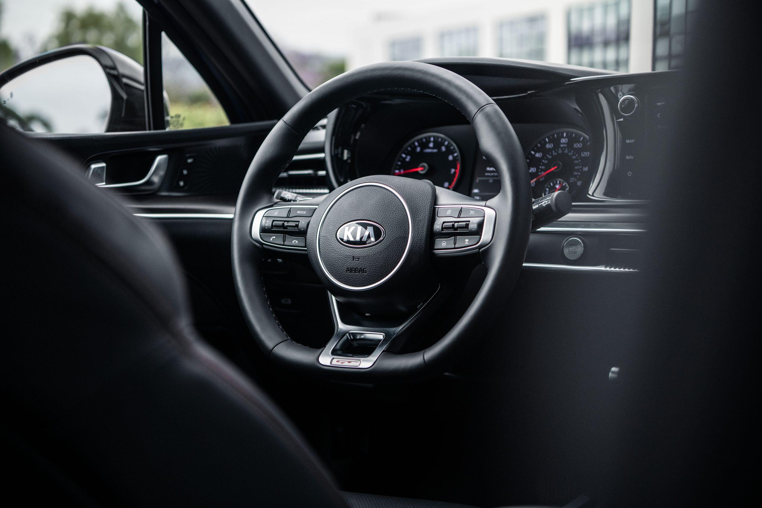 2021 K5 GT steering wheel