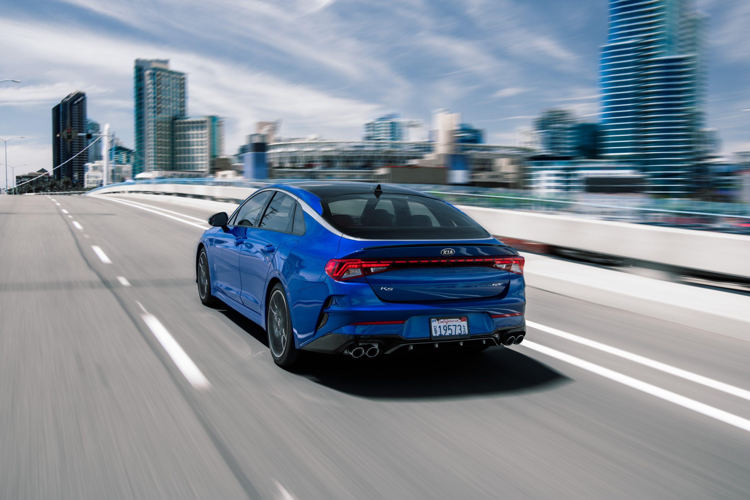 2021 K5 GT rolling rear