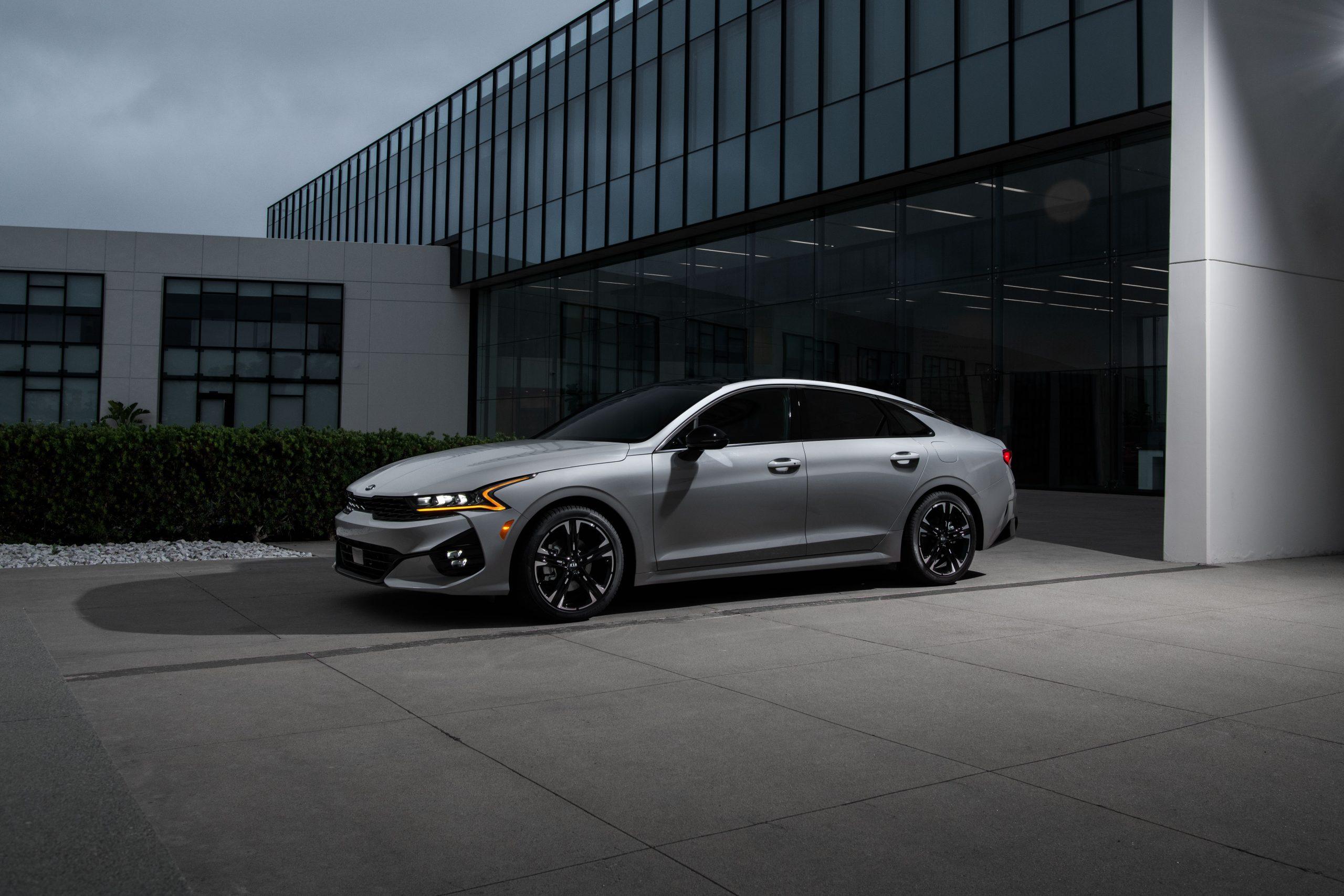 2021 Kia K5 GT-Line AWD profile