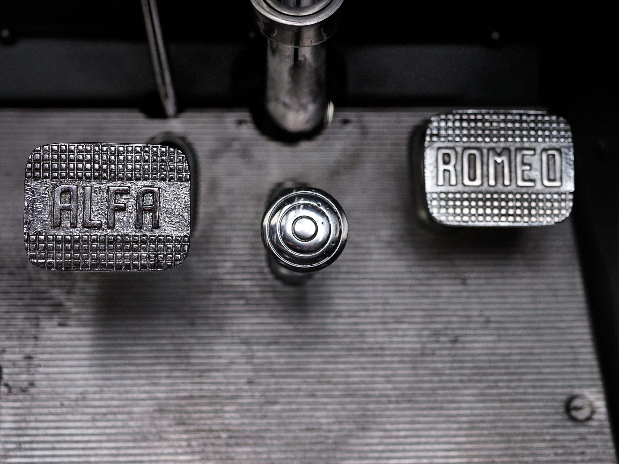 1930 Alfa Romeo 6C 1750 Grand Sport Spider by Zagato pedals