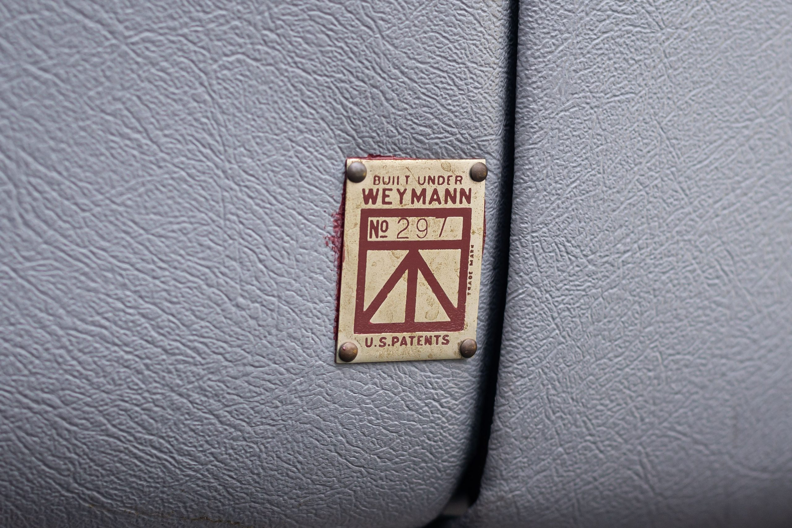 1930 Stutz Model MB Monte Carlo by Weymann plaque