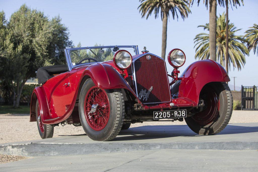 1934 Alfa Romeo 8C 2300 front three-quarter