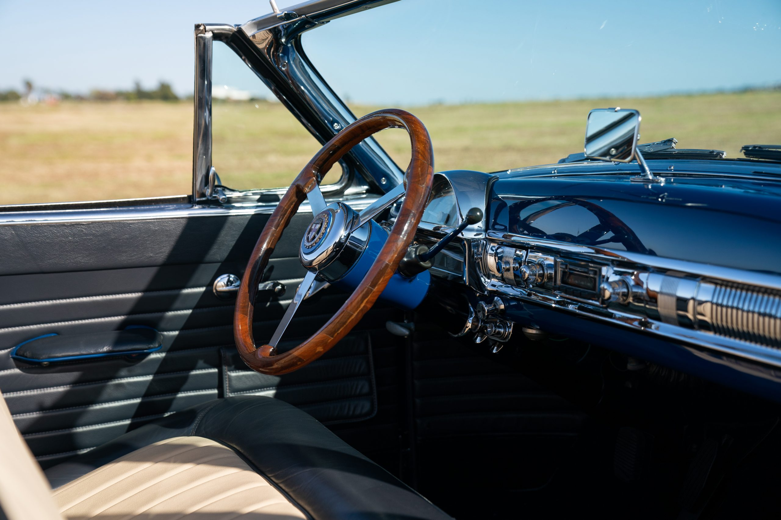 1954 Edwards America Convertible interior