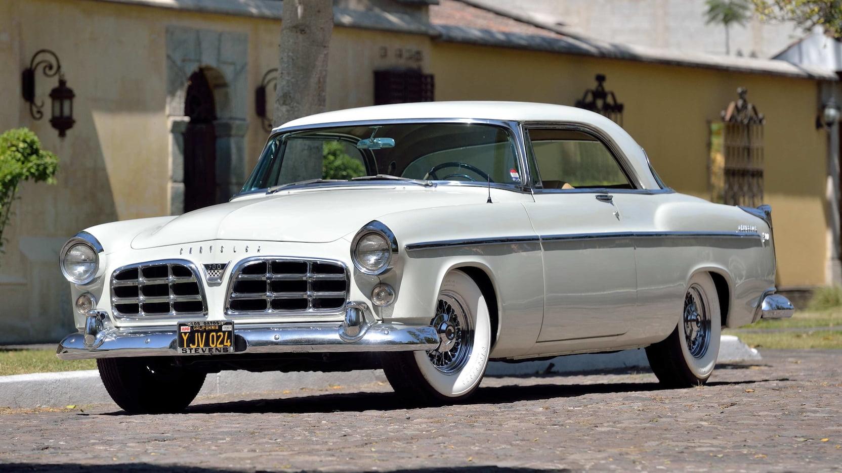 1955 Chrysler C-300 front three-quarter