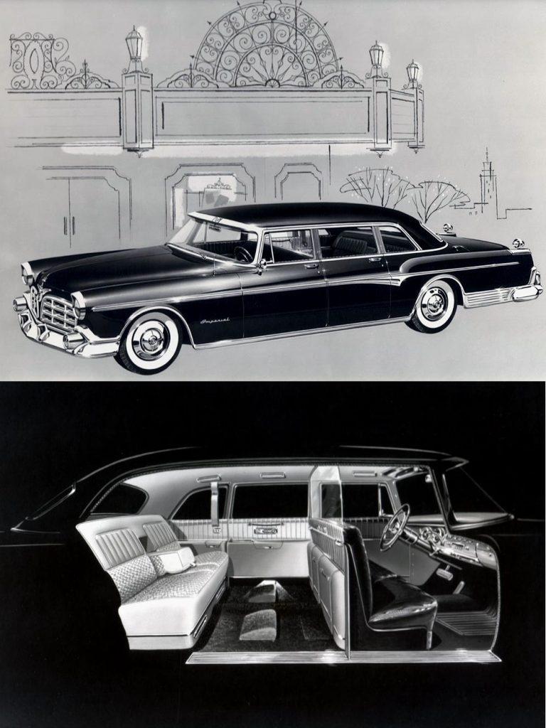 1955 limousine