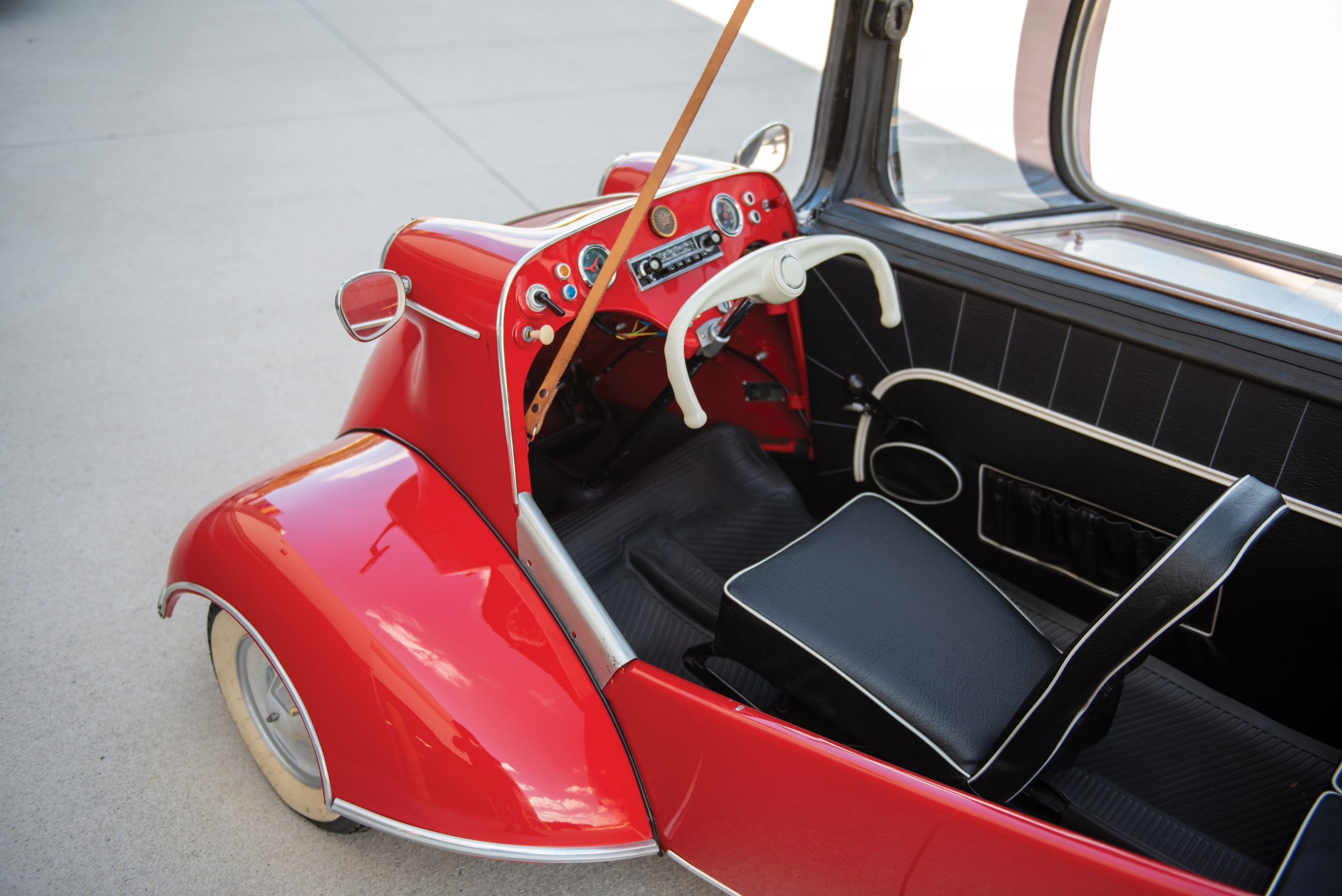 1956 Messerschmitt KR 200 cockpit