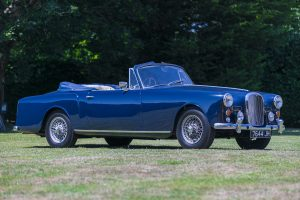 Blue Alvis TD21 Series 1 Front Three-Quarter