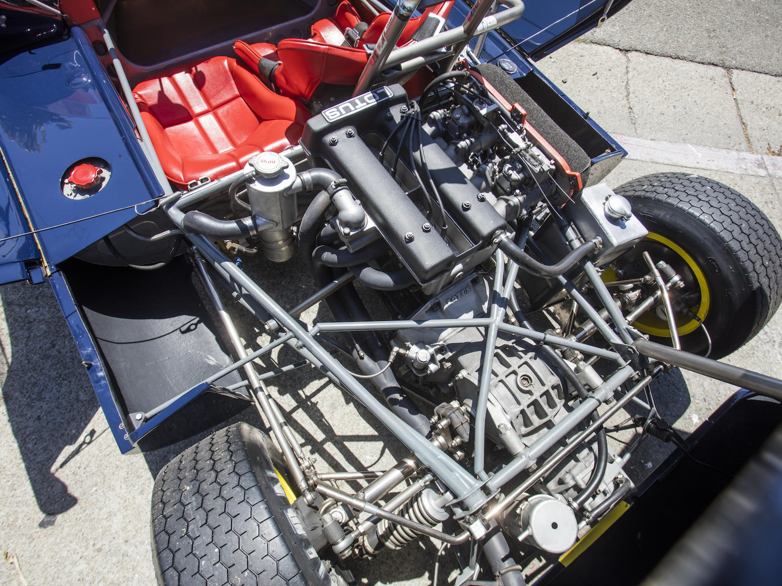 Lotus 23B Race Car engine
