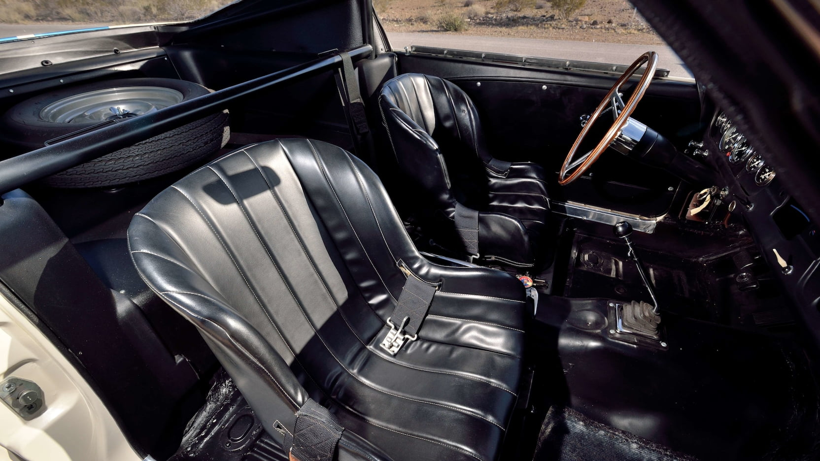 1965 Shelby GT350R Prototype Interior Passenger