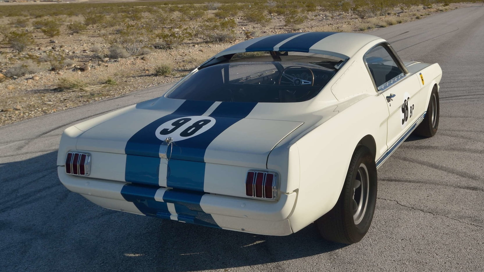 1965 Shelby GT350R Prototype Rear Three-Quarter