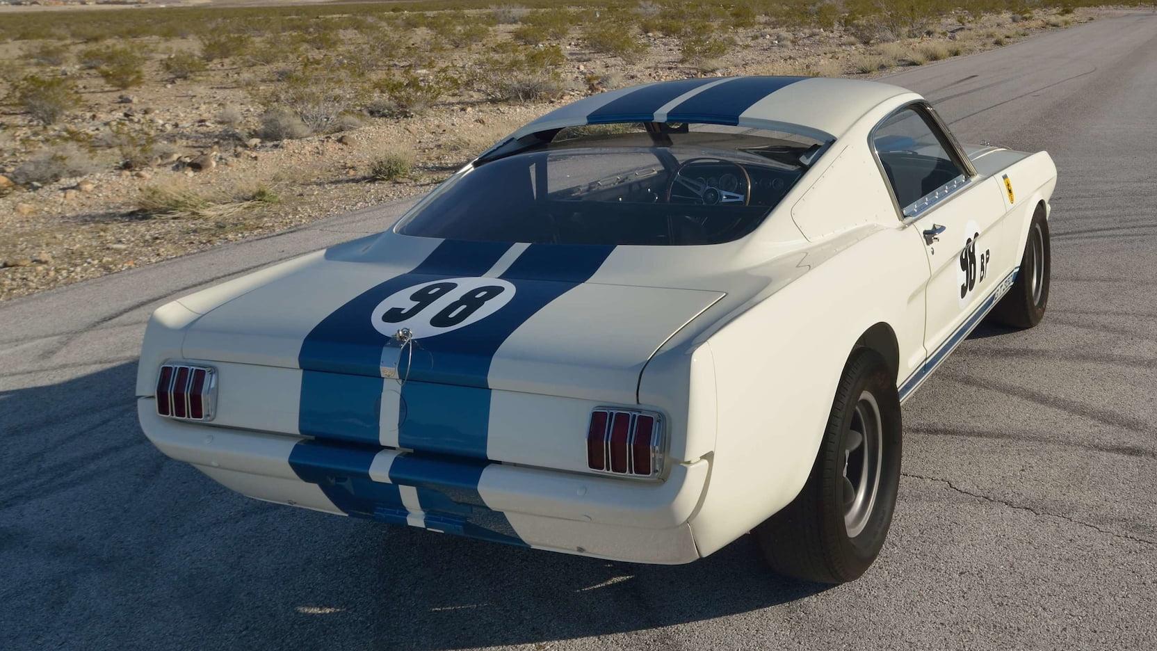 1965 Shelby GT350R Prototype Rear Three-Quarter