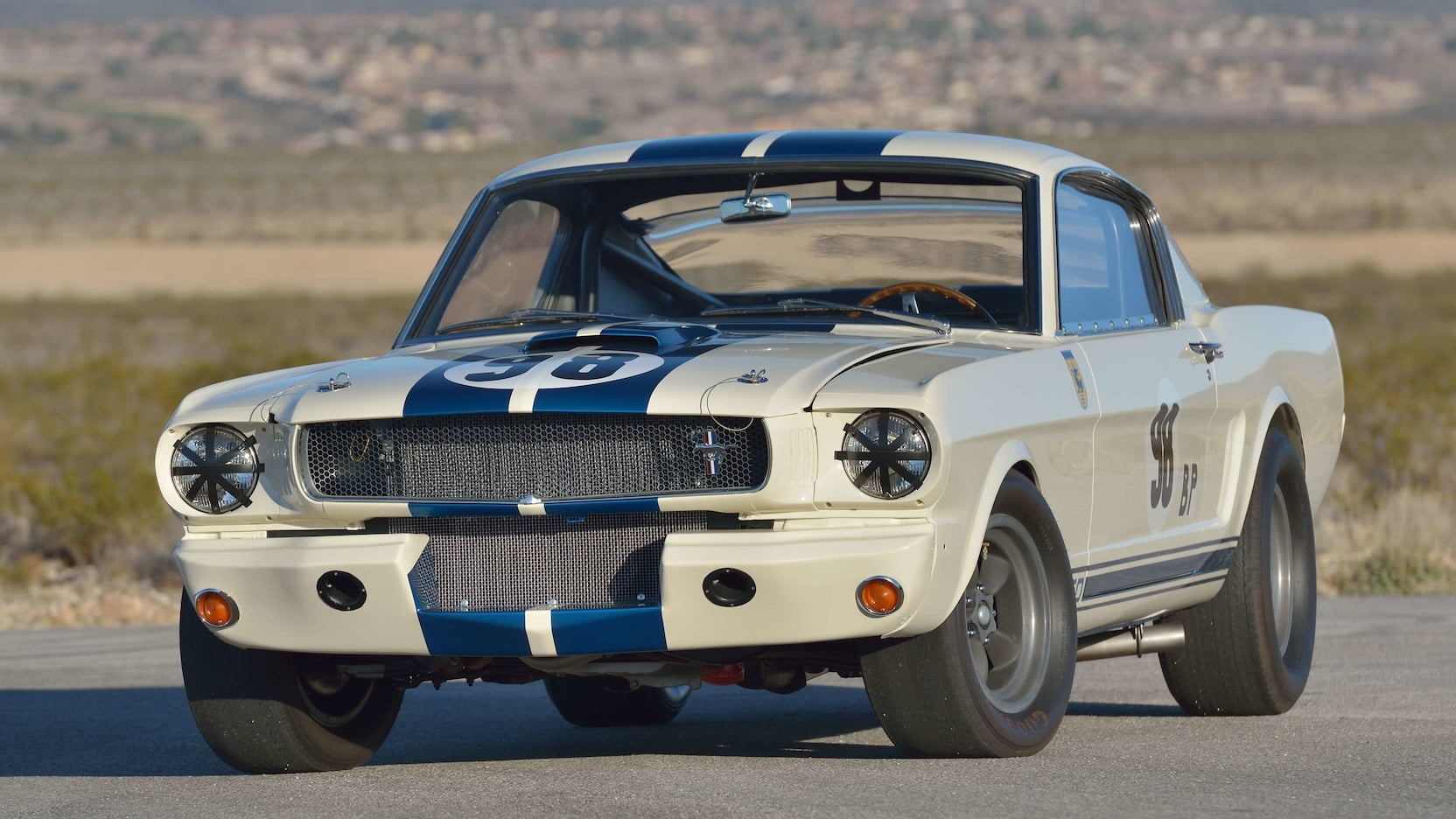 1965 Shelby GT350R Prototype Front Three-Quarter
