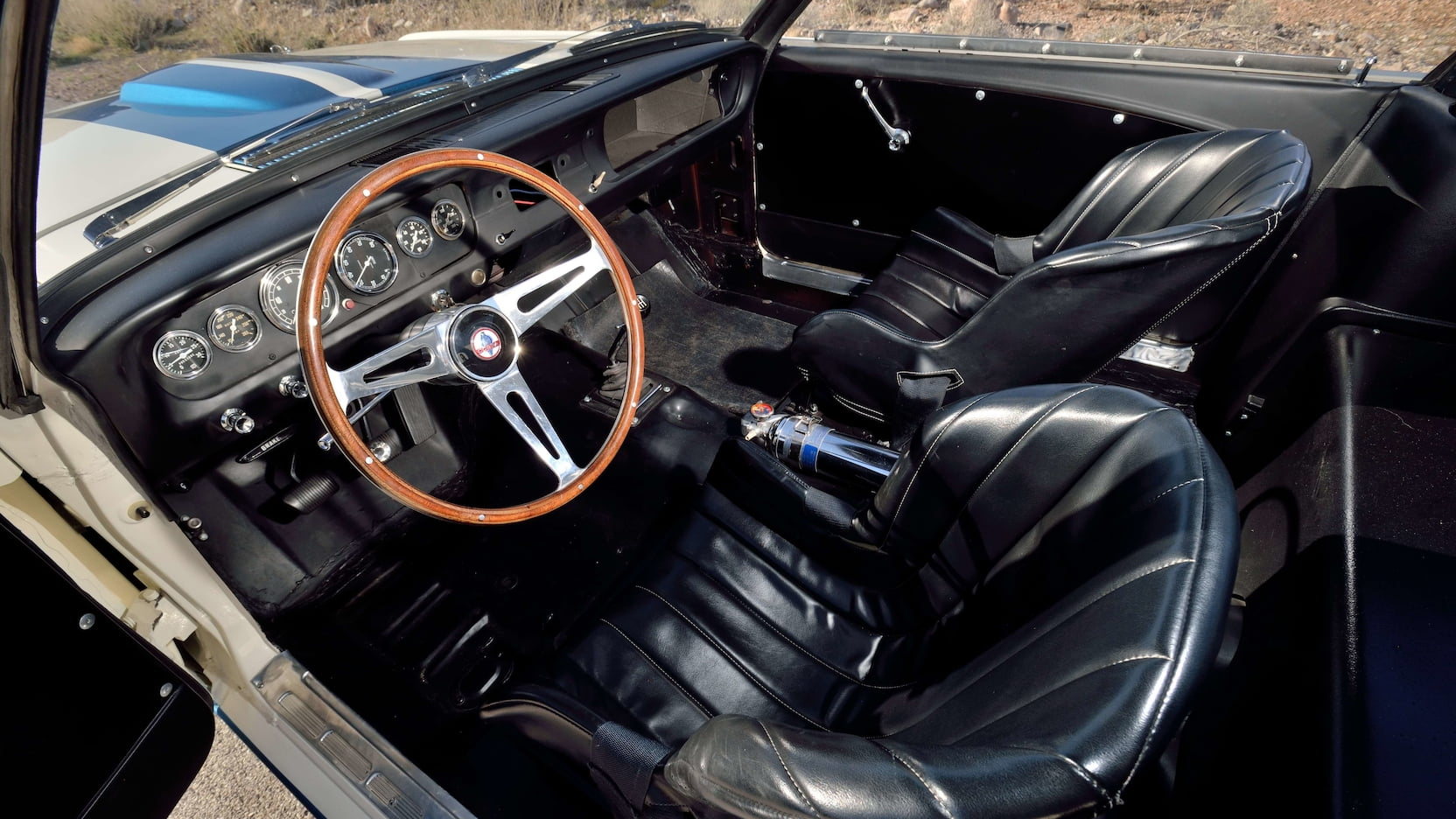 1965 Shelby GT350R Prototype Interior Driver