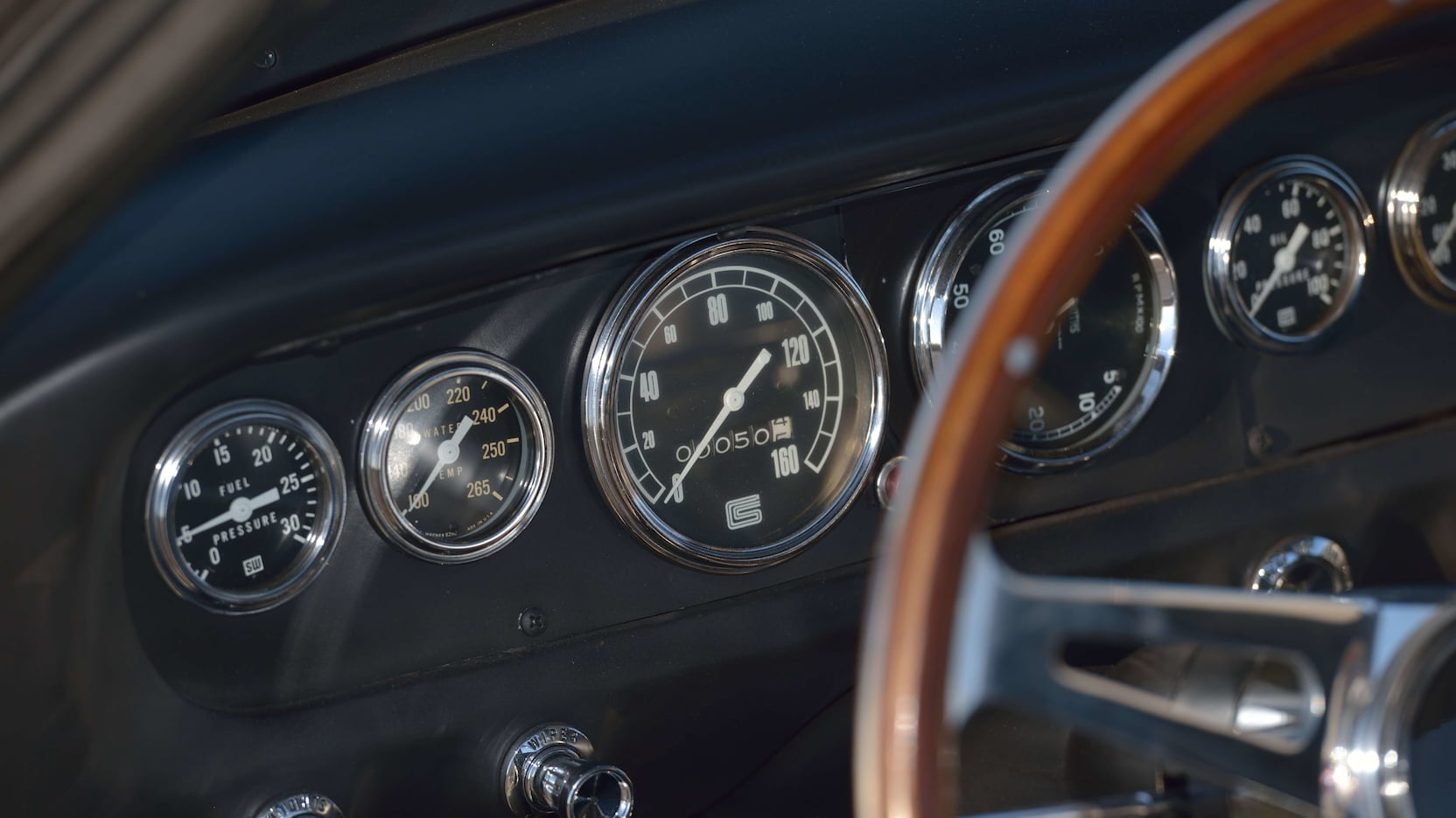 1965 Shelby GT350R Prototype Gauges