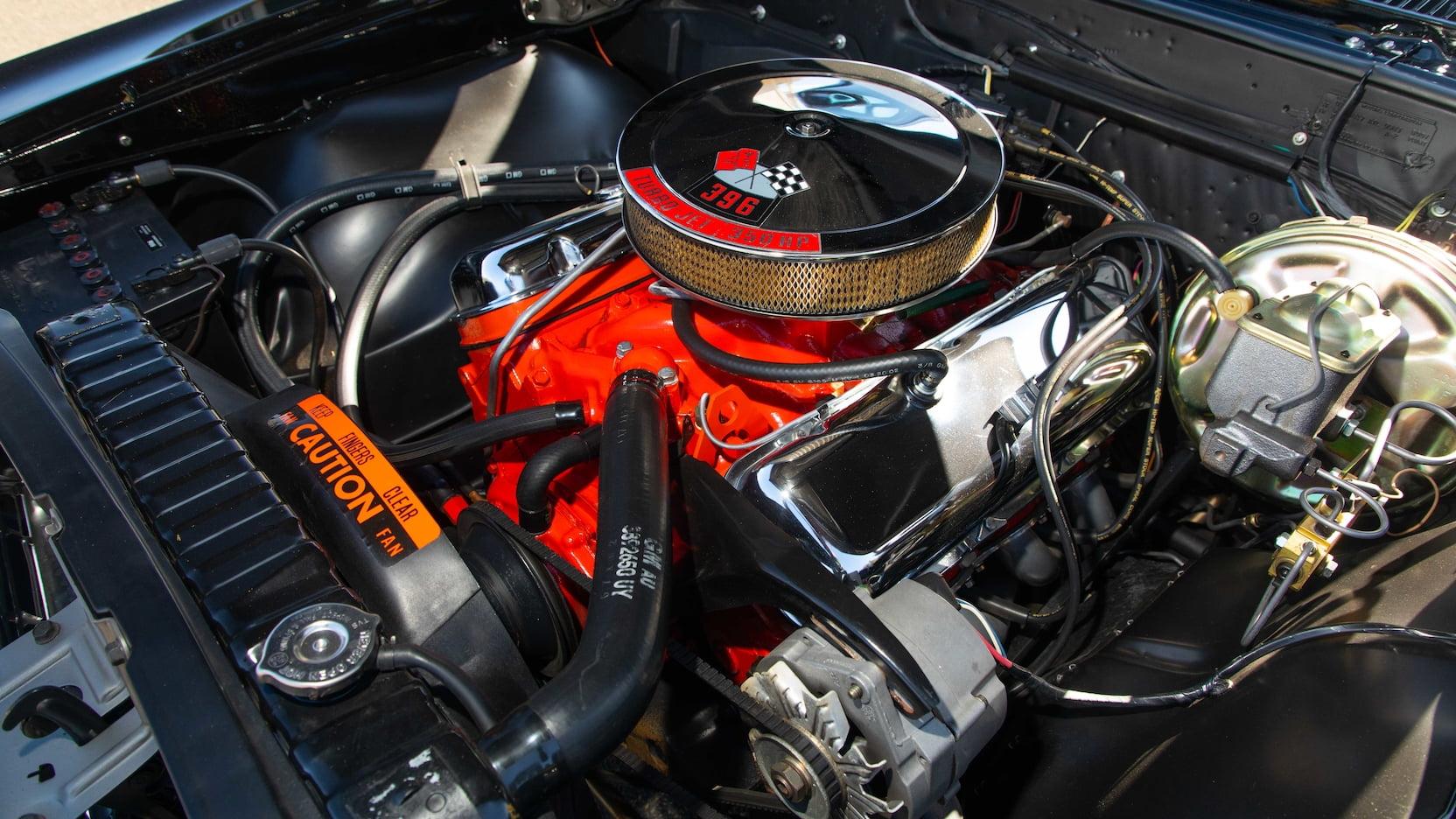 1967 Chevrolet Chevelle SS Engine