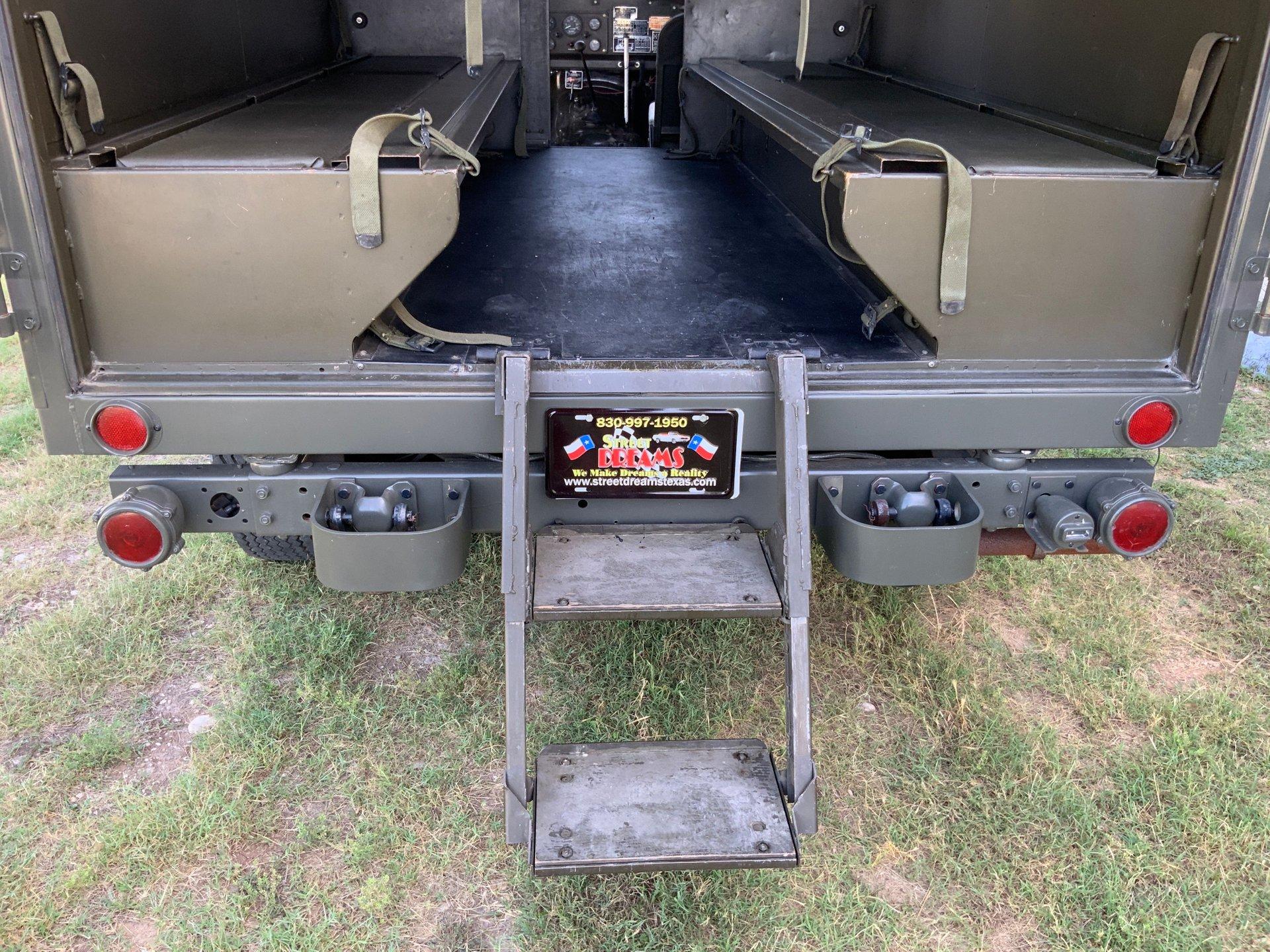 1967 Jeep M725 Ambulance Cargo Gate