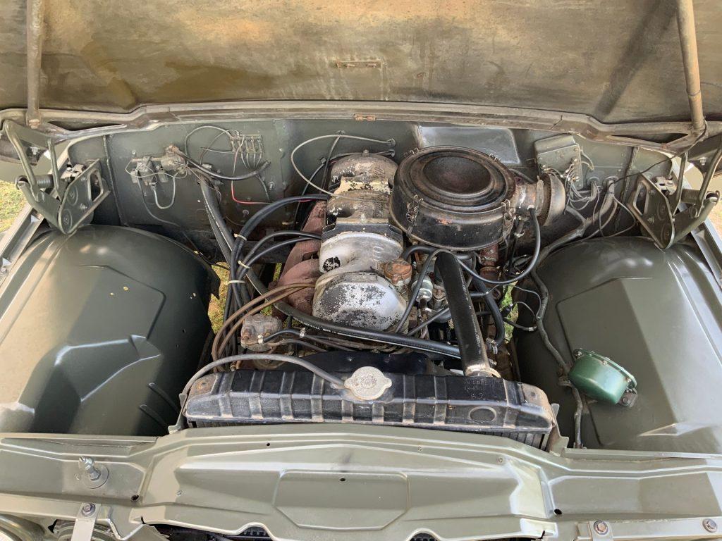 1967 Jeep M725 Ambulance 230 OHC Engine