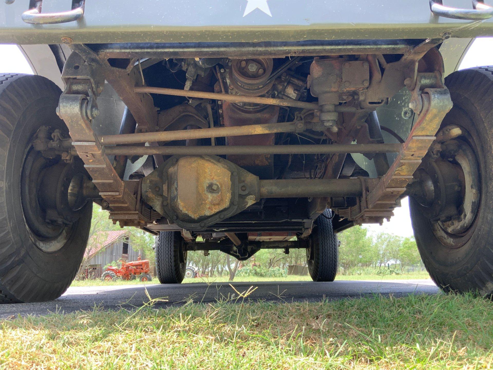 1967 Jeep M725 Ambulance Underside