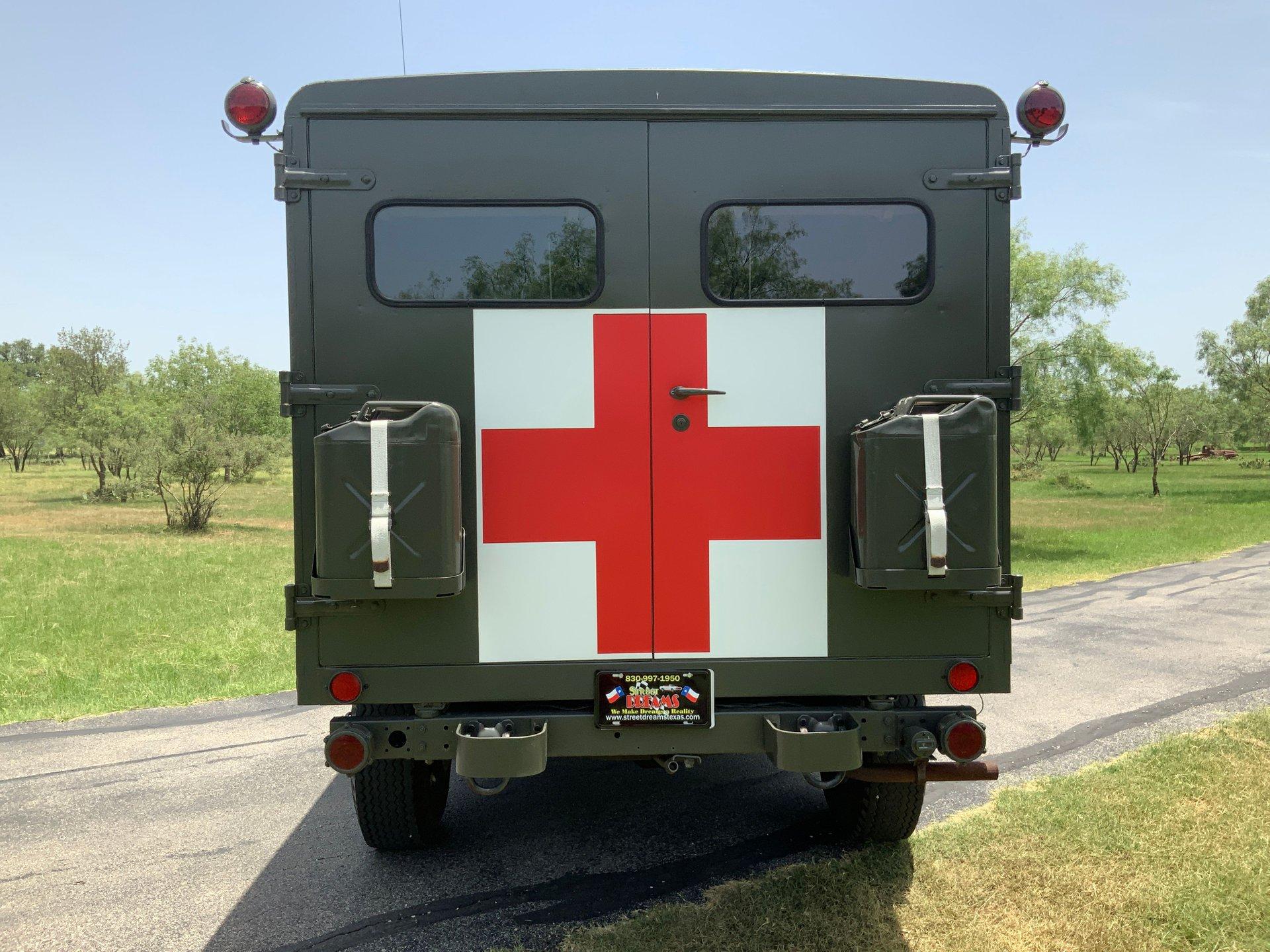 1967 Jeep M725 Ambulance Rear