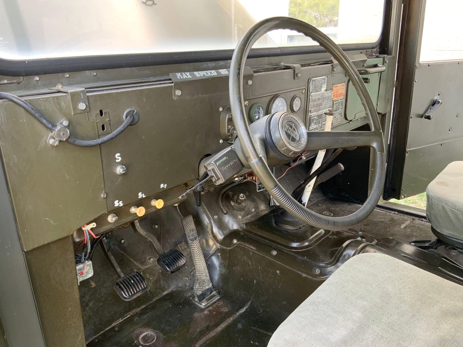 1967 Jeep M725 Ambulance Steering Wheel