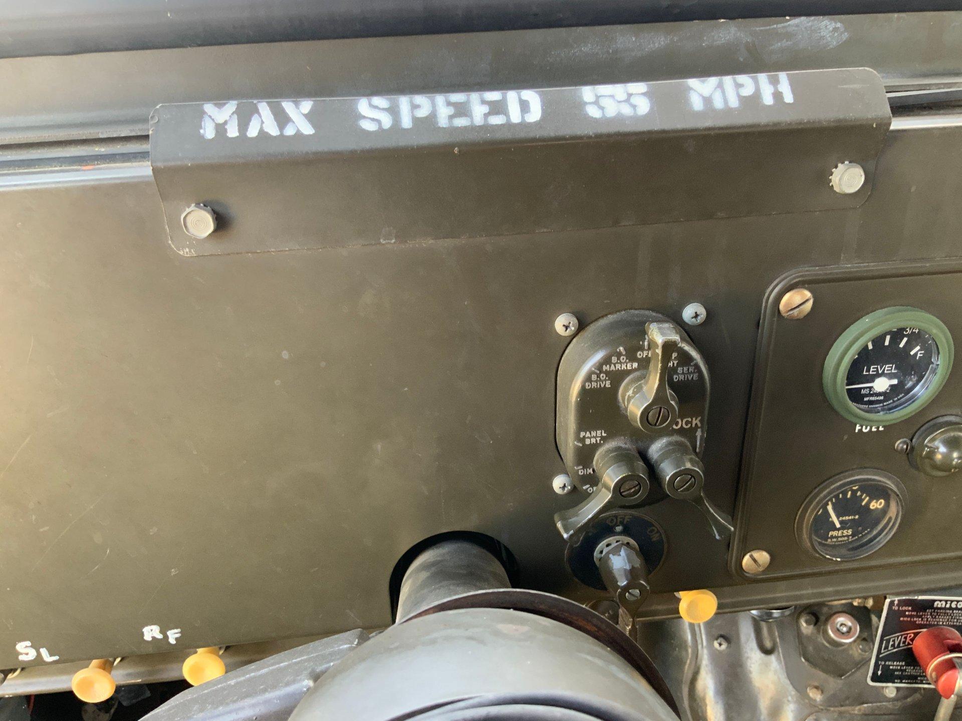 1967 Jeep M725 Ambulance Max Speed