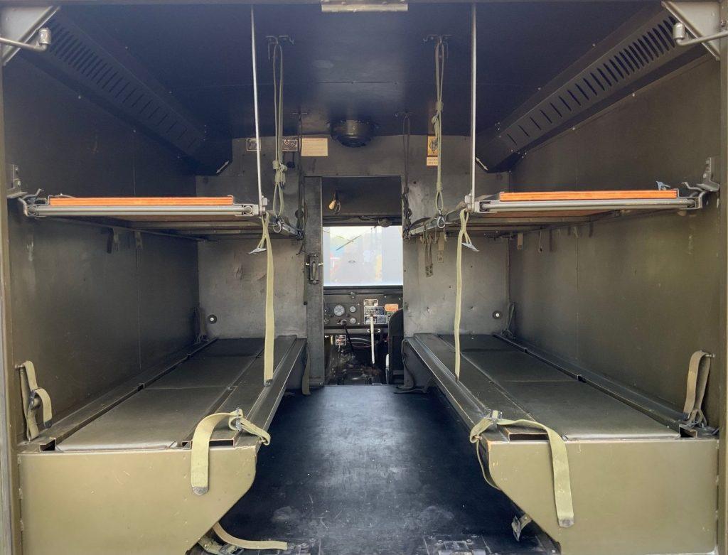 1967 Jeep M725 Ambulance Cargo Area