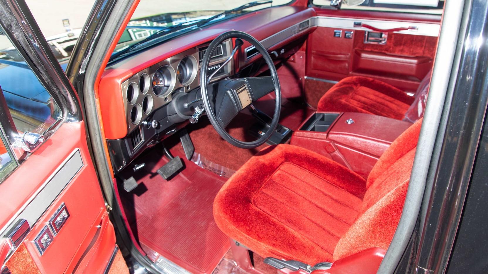 1969 Chevrolet K5 Blazer Interior